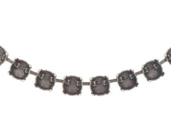 12mm Rivoli Cup chain for necklace 5 meters