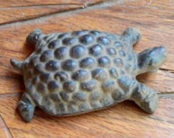 Cast Iron Turtle, FREE SHIPPING