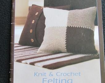 PB50 Patons Knit & Crochet Felting 500210DD Craft Book