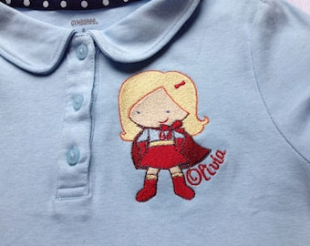 SUPER HEROES EMBROIDERY