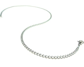 22 Inch Chain Stainless Steel With Lobster Claw Clasp