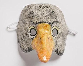 masquerade paper duck mask