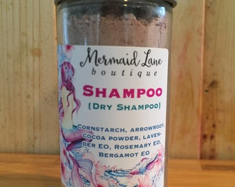 All Natural Vegan Dry Shampoo with Cocoa