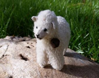 Handmade Soft Sheep Sculpture