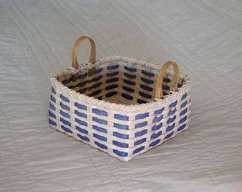 Large 10.5 Square Basket with Handles