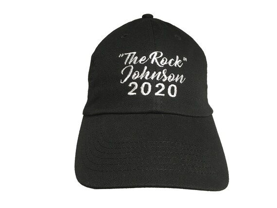 The Rock Johnson 2020 - Embroidered Ball Cap (Available in Colors too)
