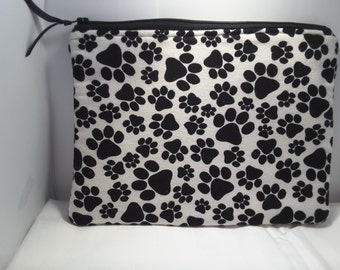 Paws pouch, Dog paws bag, Dog Paws clutch