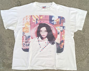 90s Vintage BJORK Original Post tour shirt