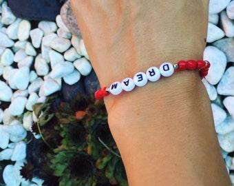 Boho Bracelet Dream with wooden beads