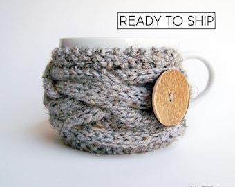 Coffee Sleeve, Coffee Cozy, Hygge Decor, Knit Coffee Sleeve, Coffee Mug Cozy, Coffee Mug Sleeve, Coffee Cup Sleeve Coffee Cup Cozy Tea Cozy