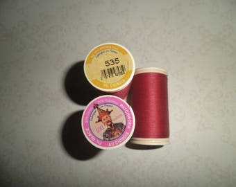 Spool of thread glazed Chinese for patchwork