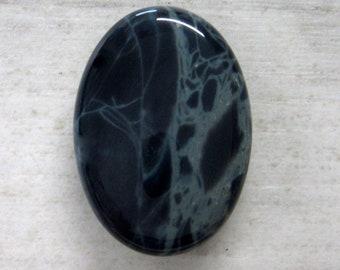 Spiderweb Obsidian Cabochon - Small Oval Cabochon