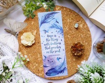 Hope is the thing - bookmark