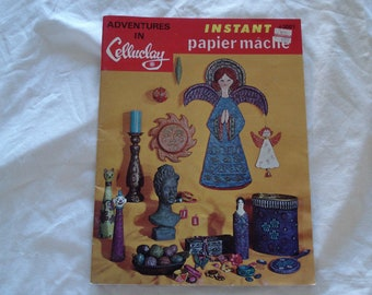 CELLUCLAY Instant Papier Mache Issue 3001.
