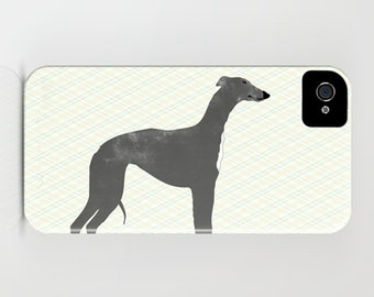 Whippet Dog on Phone Case - whippet, Samsung Galaxy S7, Gift Ideas, iPhone 6S, iPhone 6 Plus, Whippet Gifts , iPhone 8