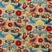 La Paloma Cotton Fabric | Alexander Henry | Birds | Folk Art | Mexican | Big Bright Flowers | Quilting | Doves | Southwest | Off White