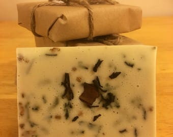 Chai Black Tea Goats Milk Soap Bar