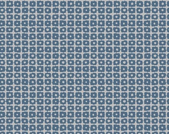 Apparel fabric, Blue Fabric, Bedding Fabric, Quilting Fabric, Cotton Fabric, Art Gallery Fabric, Panda Patches Blue print