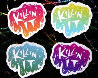Killin' It Stickers
