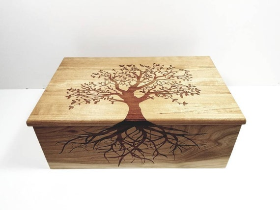 Personalized Electronic Large Music Box ANY Song Tree of Life