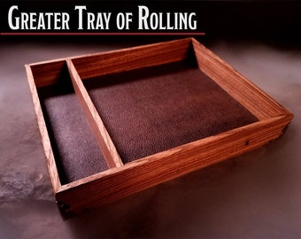 Greater Tray of Rolling