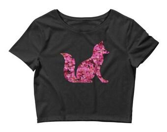 Women's Foxy Crop Top