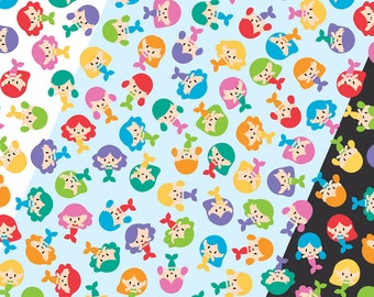 Color customization of one of my designs on Spoonflower
