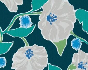 Floral Pillow Cover, Green, Sky Blue, Medium Blue, Grey, Botanical, Foliage, Throw Pillow, Modern, SummerHome, Spring Pillow, Leafy Green