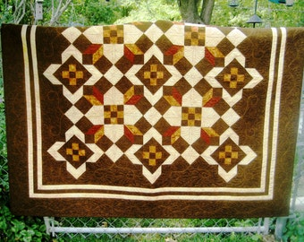 SALE, Buy 2/Get 1 Free -- STORMY WEATHER, pdf Quilt Pattern, Throw, Queen & King sizes
