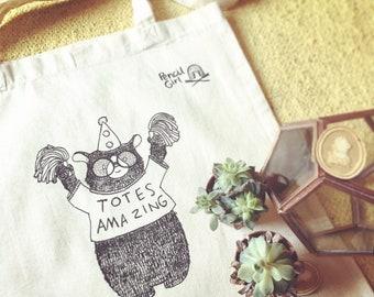 Totes Amazing - Illustrative Tote bag