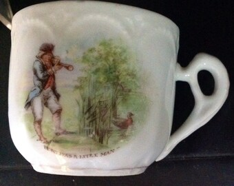 There Was A Little Man Child's Nursery Rhyme Mug