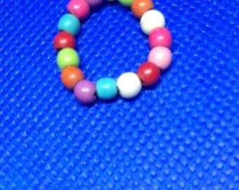 Multi Color Toe Ring