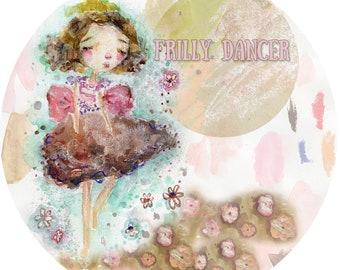 Frilly Dancer  - online art class