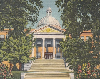 Santa Fe, New Mexico Vintage Postcard - State Capitol Building