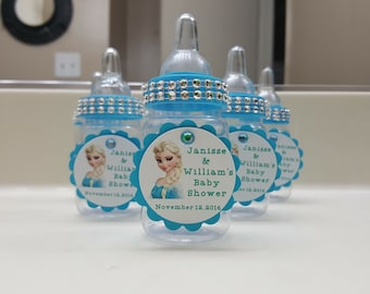 Frozen Baby Bottle Party Favors