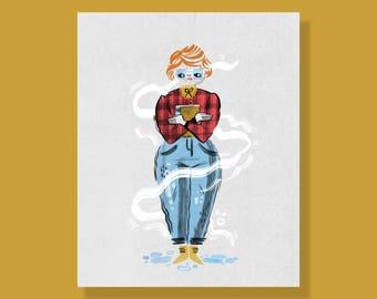 Barb (Stranger Things) Print