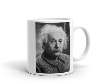 Einstein Mug, Coffee Mug, Einstein Coffee Cup, Vintage Mug