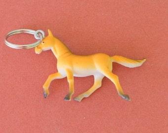 Kitschy HORSE Keychain.....plastic. kawaii. kitsch. retro. stables. farm animals. horse lover. rider. stallion. handmade. unique. farm