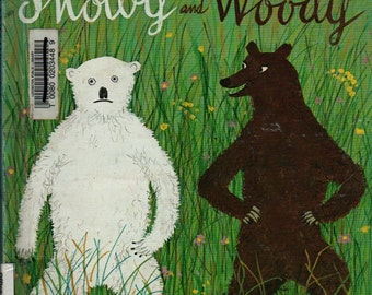 Snowy and Woody + Roger Duvoisin + 1979 + Vintage Kids Book