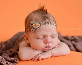 Dusty Mauve Stretch Knit Wrap Newborn Photography Prop