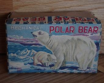 Vintage Mechanical Walking Bear