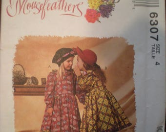Vintage McCall's Mousefeathers Dress Pattern 6307 FF