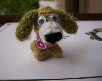 Crochet Mini amigurumi dog/мини амигуруми собачка