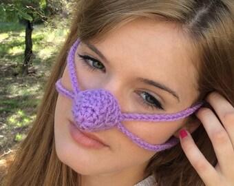 Lavender Nose Warmer,  Outdoor Sports Activities, Teen, Woman, Cold Noze Cover, Vegan Friendly, Teacher Gift, Sleep warm nose