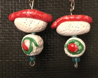 Sushi Earrings! Available in any fish!