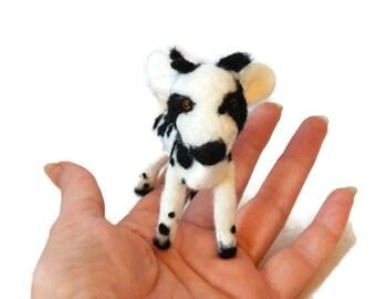Custom Needle felted  Jacobs Sheep,  Personalised lamb Soft Sculpture, Unique Farmyard Art