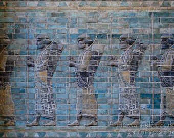 Poster, Many Sizes Available; Persian Archers C510 Bc