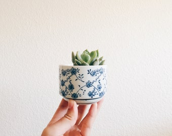 Mini Flower pot - small miniature succulent planter