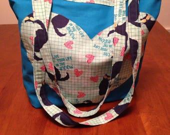 Tote Bag, Market Bag, Purse