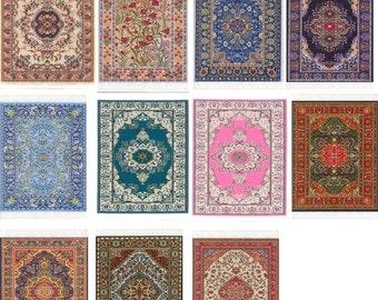 Turkish Woven Rug design Carpet Mousepad